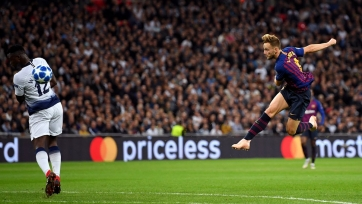 УЕФА определил лучший гол на групповом этапе Лиги чемпионов