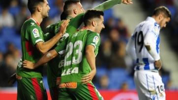 «Алавес» на выезде минимально обыграл «Реал Сосьедад»