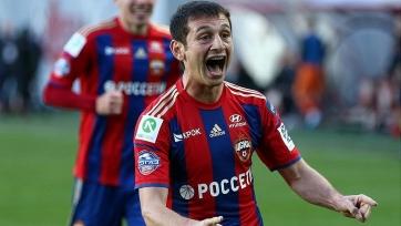 ЦСКА хочет продлить Дзагоева еще на три года