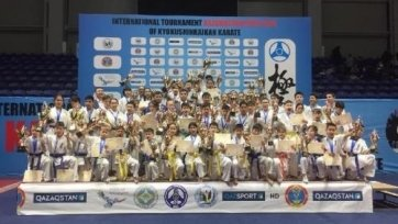 16-летний казахстанский каратист выиграл международный турнир