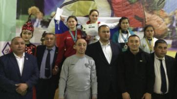 Казахстанка завоевала бронзу на чемпионате мира по поясной борьбе