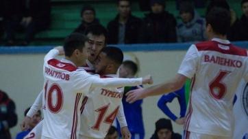 МФК «Актобе» после завоевания Кубка Казахстана разгромил ДЮСШ №7