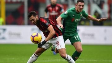 Верету заинтересовал «Милан»