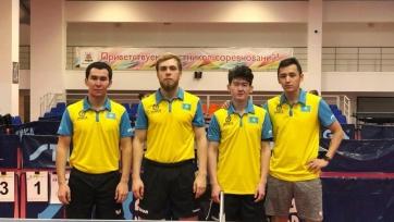 «Астана» успешно выступает в Континентальном чемпионате Федерации настольного тенниса России