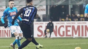 «Интер» в большинстве вырвал победу у «Наполи»