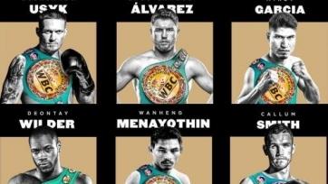 Головкина нет в списке номинантов на звание лучшего боксера года