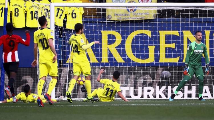«Вильярреал» – «Атлетик» – 1:1. 20.01.2019. Чемпионат Испании. Обзор и видео матча