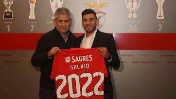 Сальвио продлил контракт с «Бенфикой»