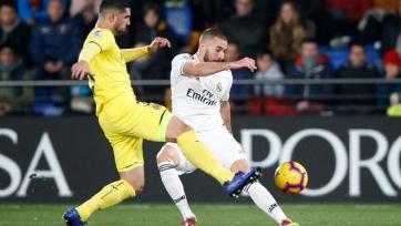 «Реал» не смог обыграть «Вильярреал» в гостевом поединке
