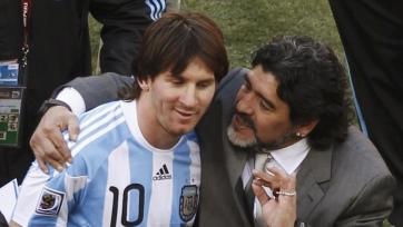 Марадона: «Месси хотят сделать лидером, но он никогда не будет им»