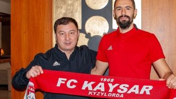 «Кайсар» объявил о подписании четырех новичков