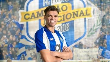 Пепе подписал контракт с «Порту»