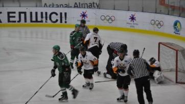 «Бейбарыс» и «Астана» забросили десять шайб на двоих