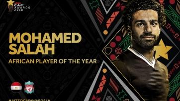 Салах второй раз подряд признан лучшим футболистом года в Африке, Хакими - лучший молодой игрок