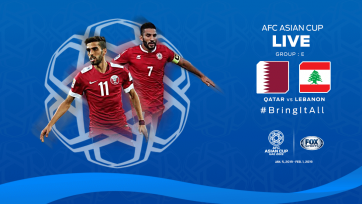 Кубок Азии. Катар разобрался с Ливаном