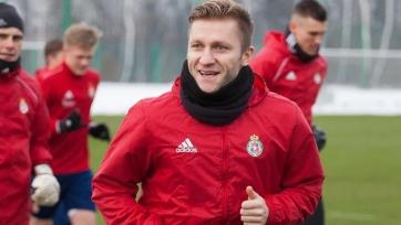 Блащиковски провел первую тренировку с «Вислой». За этот клуб он готов играть бесплатно