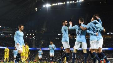 «Манчестер Сити» забил девять мячей в полуфинале Кубка английской лиги