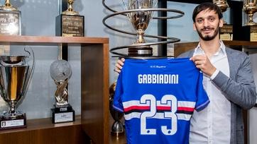 «Сампдория» объявила о переходе Габбьядини