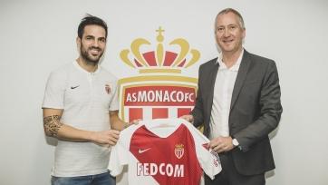 Официально: Фабрегас - игрок «Монако»