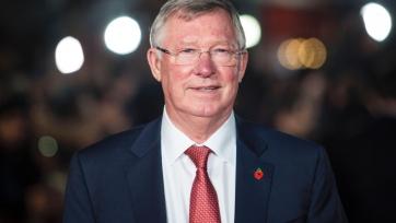 Фергюсон посетил тренировку «Манчестер Юнайтед» перед матчем с «Тоттенхэмом». Фото