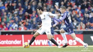 «Валенсия» с Черышевым сыграла вничью с «Вальядолидом»