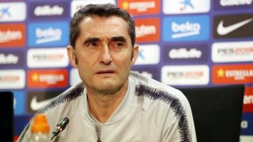 Вальверде: «У «Барселоны» есть место еще для одного нападающего»
