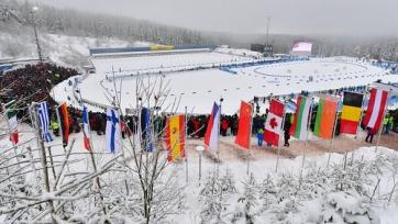Казахстанские биатлонисты не смогли финишировать в эстафете