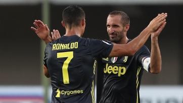 Кьеллини: «Роналду нужен «Ювентусу», чтобы сделать последний шаг в Лиге чемпионов»