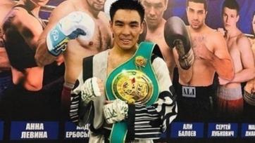 Казахстанский боксер дебютировал в рейтинге WBC