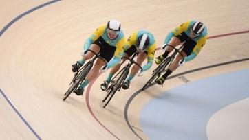 Стал известен состав сборной Казахстана на пятый этап Кубка мира по велотреку