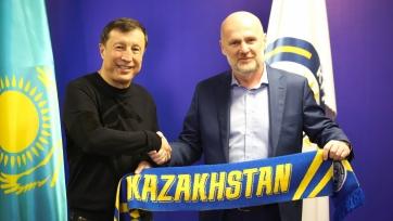 Официально: сборная Казахстана получила нового главного тренера