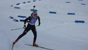Казахстанская биатлонистка Крассикова заняла 63 место в спринте Кубка IBU