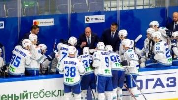 «Барыс» назвал состав на очередную выездную серию КХЛ