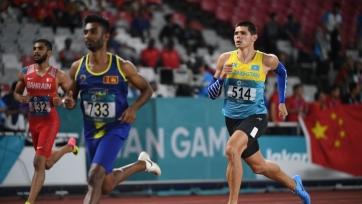 Литвин обновил рекорд Казахстана в беге на 400 метров