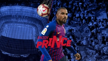 Официально: Кевин-Принс Боатенг – игрок «Барселоны»