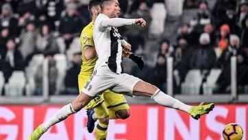 «Ювентус» разгромил «Кьево», Роналду не реализовал пенальти