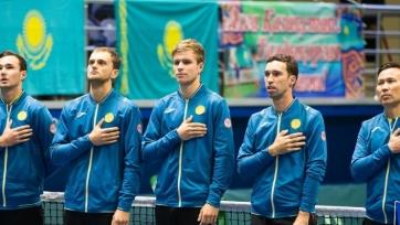 Теннис. Казахстан готовится принять Португалию