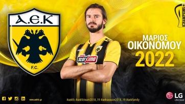 АЕК выкупил у «Болоньи» защитника сборной Греции