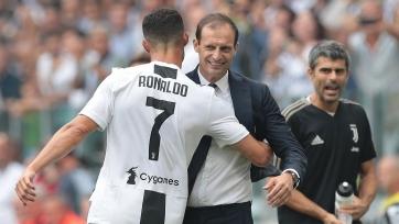 Роналду, не реализовав пенальти, проиграл спор Аллегри