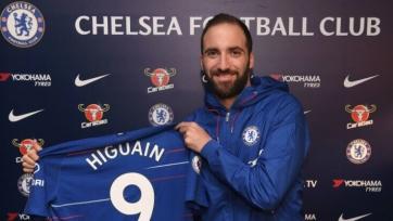 Официально: Игуаин стал игроком «Челси»