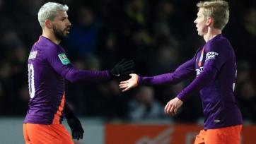 «Манчестер Сити» вновь одолел «Бертон Альбион» и вышел в финал Кубка английской лиги