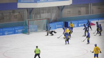 Хоккей с мячом. Юниорская сборная Казахстана разгромлена Швецией на чемпионате мира