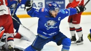 «Барыс» отметился своим самым быстрым голом сезона в КХЛ