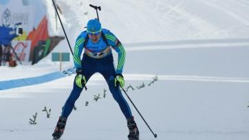 Казахстанский биатлонист финишировал 44-м в гонке преследования на этапе в Антхольце