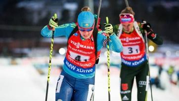 Казахстанская биатлонистка Бельченко установила личный рекорд на Кубке мира