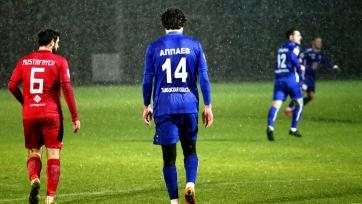 «Тамбов» уступил азербайджанскому клубу в контрольном матче