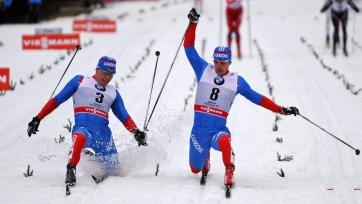 Лыжные гонки. Результаты мужской эстафеты на этапе Кубка мира