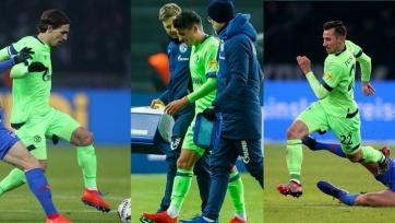 Сразу три игрока «Шальке» травмировались в матче против «Герты»