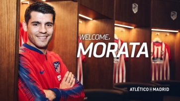 Официально: Мората – игрок «Атлетико»