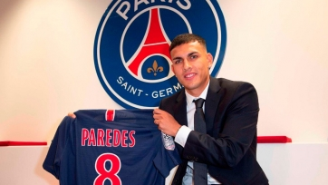 Официально: Паредес – игрок «ПСЖ»